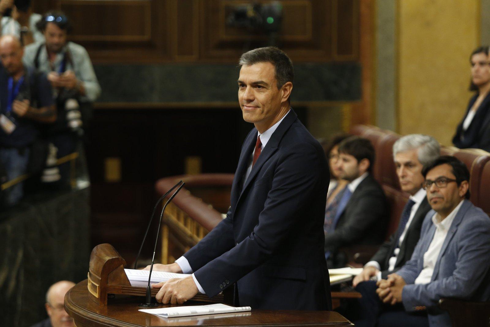 Sigue en directo el debate de investidura para la proclamación de Pedro Sánchez como presidente del gobierno en InfoDiario.es