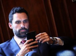 Roger Torrent, presidente del Parlament // PERE VIRGILI